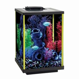 Aqueon Fish Aquarium Starter Kits LED NeoGlow, 5 Gallon Fish