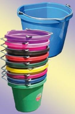 Fortiflex Flat Back Feed Bucket for Dogs/Cats and Small Anim