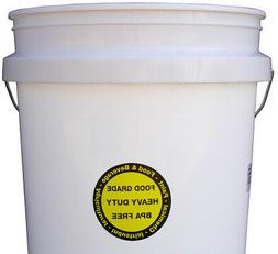 food grade bpa free 5 gallon bucket