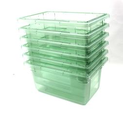 "Carlisle Food Storage Container Box 5 Gallon 18"" x 12"" x 9"""