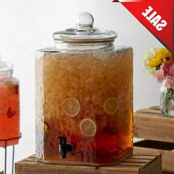 5 Gallon Glass Beverage Dispenser  *