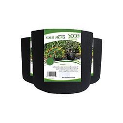 ECOgardener Grow Bags - 2 Pk. Premium Quality Fabric Plant P