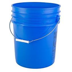 Hudson Exchange Premium 90 Mil HDPE Bucket with Handle, 5 ga