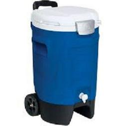 Igloo 5-Gallon Beverage Roller Majestic Blue Camping Beach H