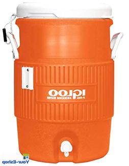 Igloo 5 Gallon Large Water Jug Dispenser Insulated Cooler Ca