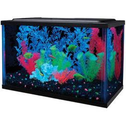 Azaina_ade Indoor Home Office Decor - GloFish Aquarium Kit w
