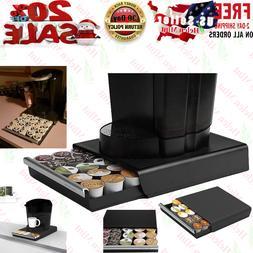 K Cup Holder Coffee Pod Storage Drawer Dispenser Stand Organ