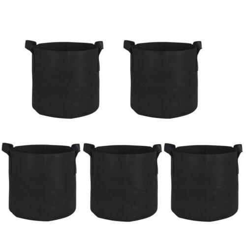 10 Pack Grow Pots Aeration Container
