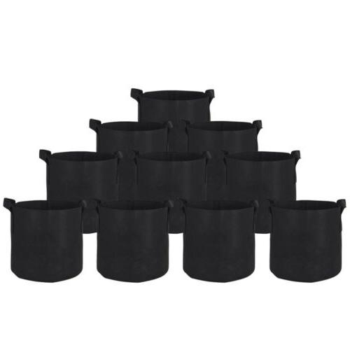 10 20 Grow Pots Plant Planter Bags Container