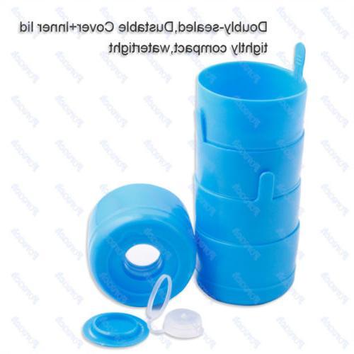 10pc 5 Water Cap Anti Splash Off