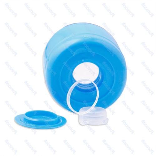 10Pc 5 Water Bottle Snap On Cap Anti