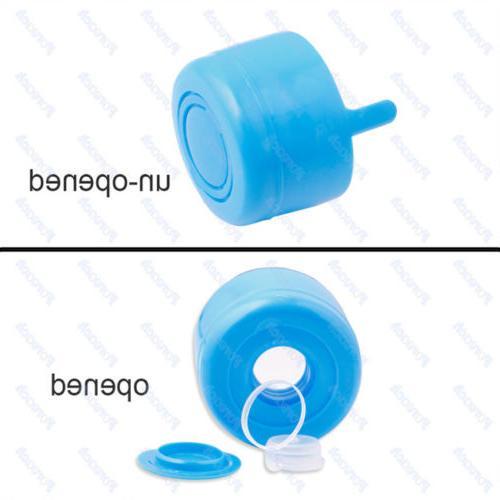 10pcs Gallon Water Bottle Cap Off