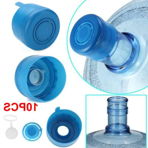 10Pcs Gallon Water Bottle Snap On Anti Water Cap