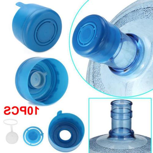 10pcs Gallon Replacemet Water Bottle Snap Cap Peel Off 55mm