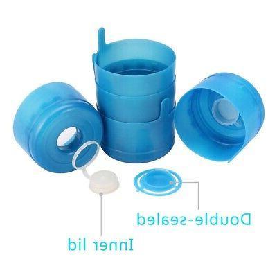 20X(30 Non Spill Cap Splash Bottle Caps 55mm 3 and 5 Gallon V4S3