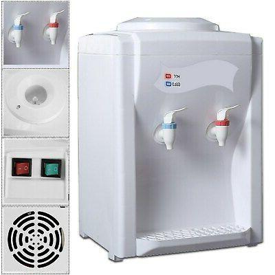 110V Electric Water Cooler Dispenser Desktop 3-5 Home Use