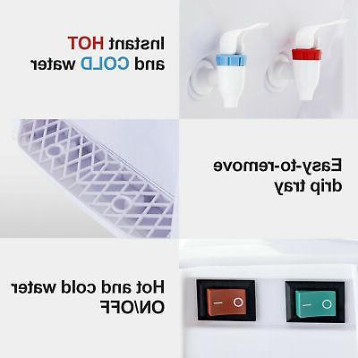 110V Electric Water Cooler Desktop 3-5 Office Home Use