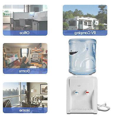 110V Hot Water Cooler Dispenser 3-5 Gallon Office Home Use