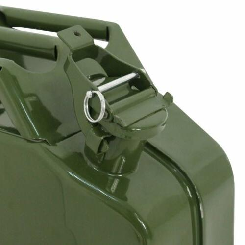 5 Gallon/20L Jerry Can Military Gasoline Fuel Tank 1pc