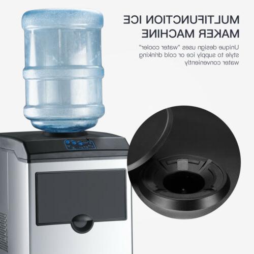 2in1 Ice Maker Machine Countertop