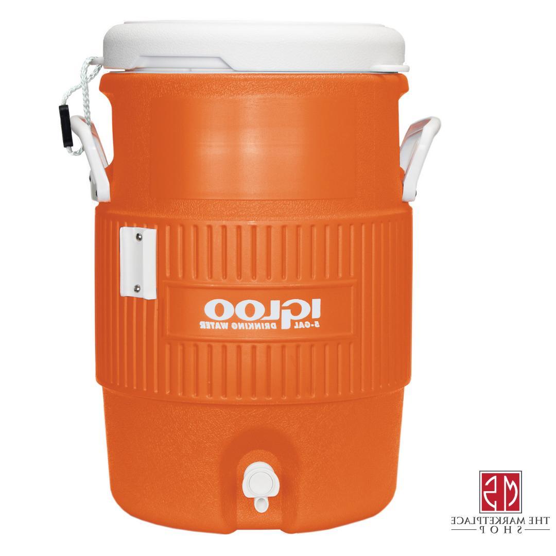 Water Cooler Jug 5 Beverage Dispenser Sports