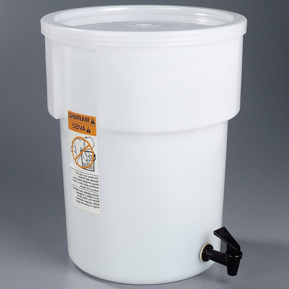 Carlisle 221002 Beverage Dispenser, 5 Gallon w/ Lid, Faucet,