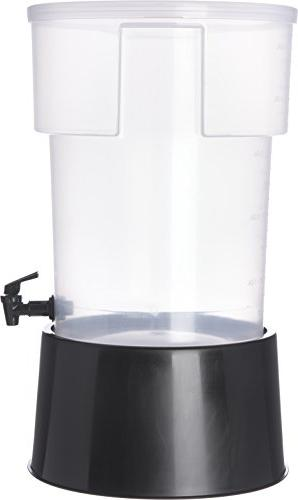 Dispenser with Base, Gallon, Clear