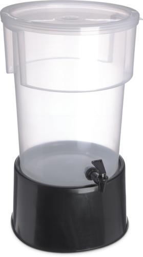 Carlisle 222903 Break-Resistant Dispenser with Gallon, Clear