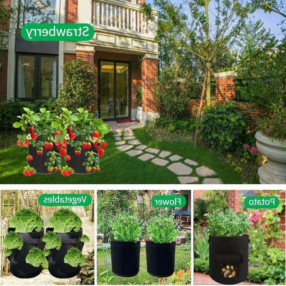 3gallon Grow Bags Fabric Root Growing Garden