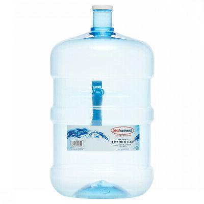 4-Pack 5 Gallon Water Bottle BPA-FREE Liquid Container Big