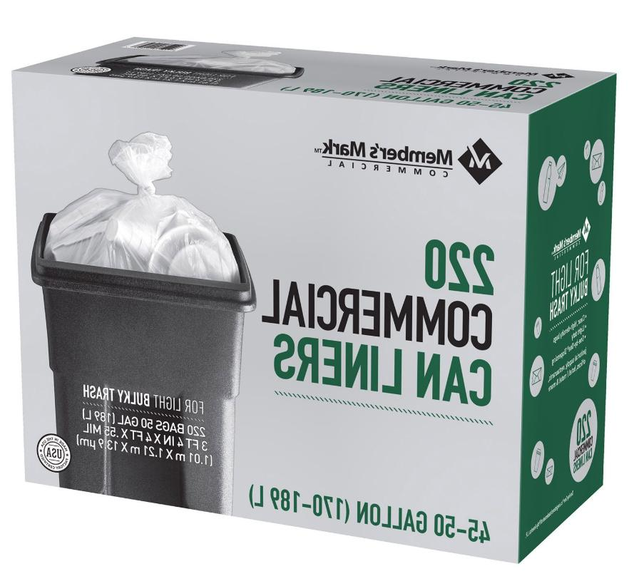 45 - Commercial Trash Light Bags 220 Ct