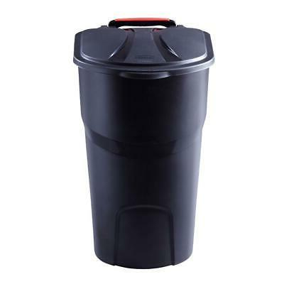 45 GALLON WHEELED TRASH CAN Lid Garbage Container Outdoor Wa