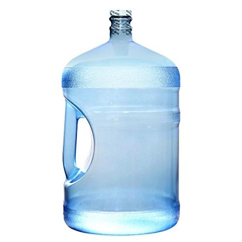 "For Water Gallon 18.92 BPA Free FDA Plastic Reusable Container Jug Handle Screw 10.75""Diam."
