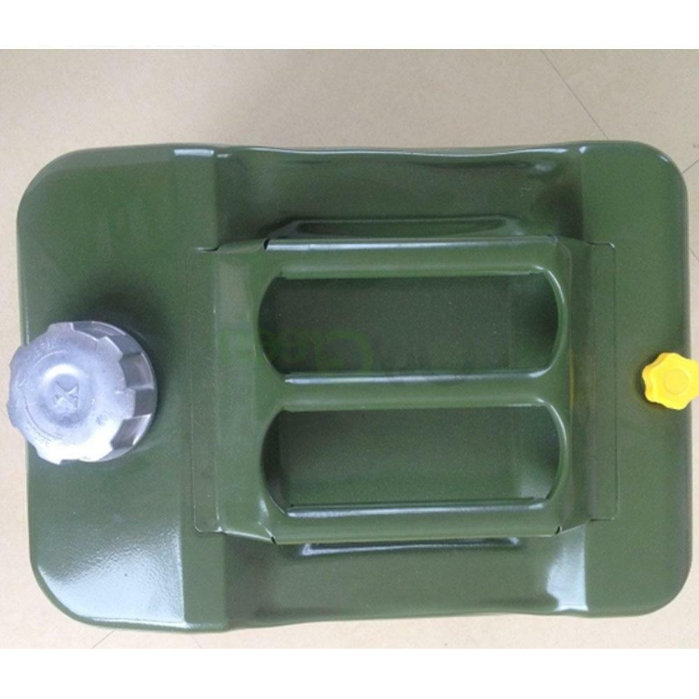5 Gas Gasoline Fuel NATO Can Military Metal Tank