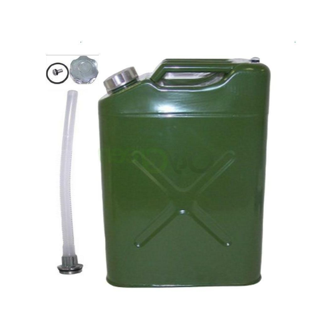 Gasoline Can Military Metal Tank