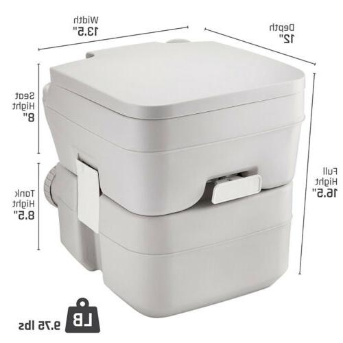 5 Gallon Portable Toilet Flush