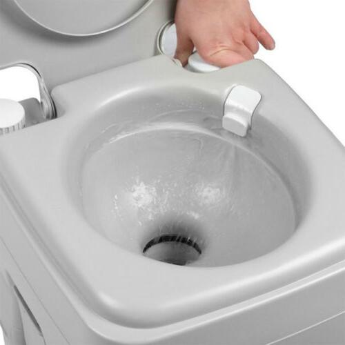 5 Portable Toilet Camping Commode Potty