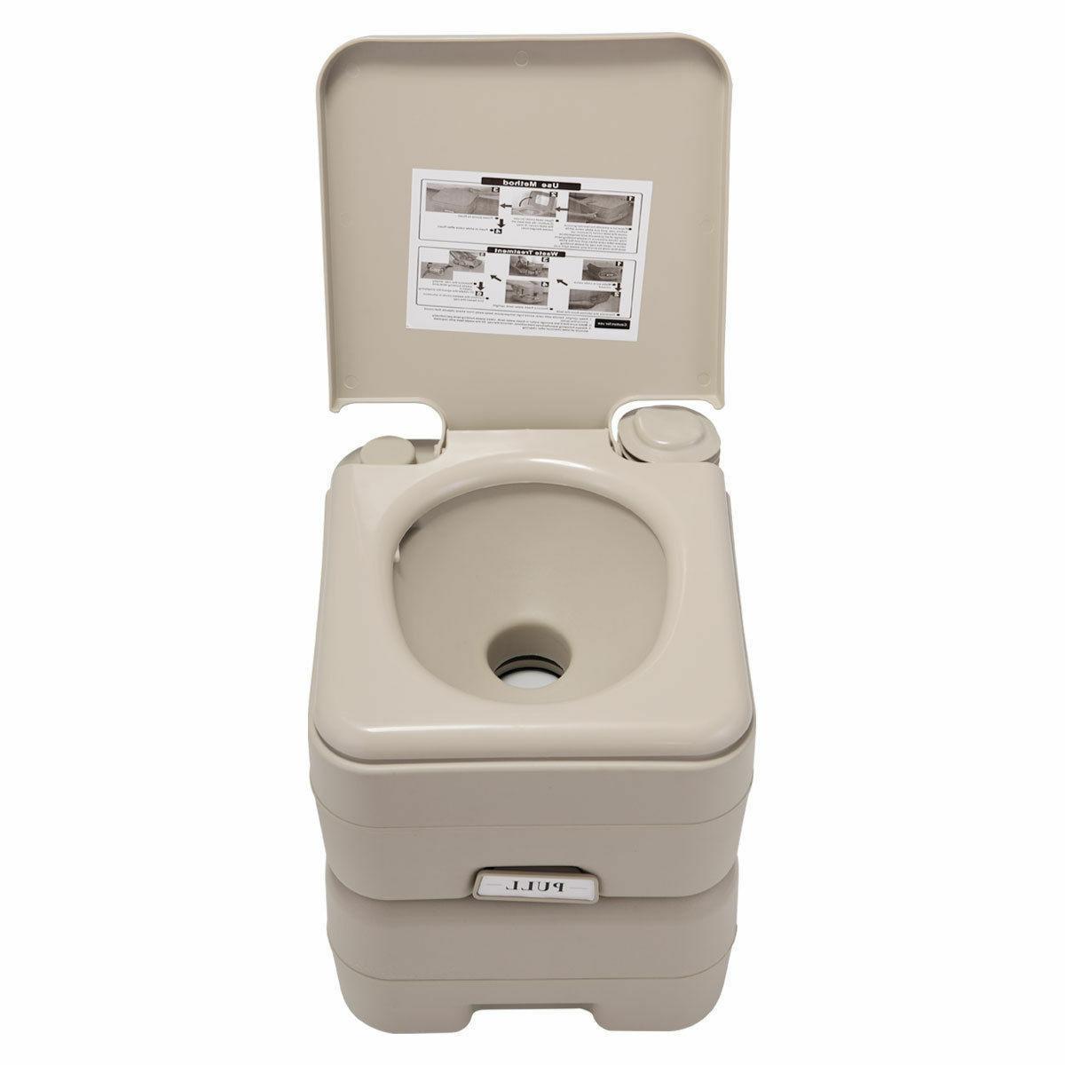 5 Toilet Flush Commode