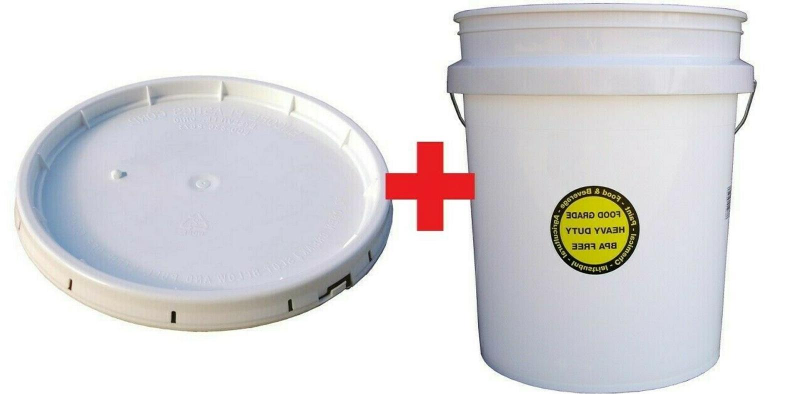 Encore Plastics 5-Gallon All Purpose Durable Commercial Food