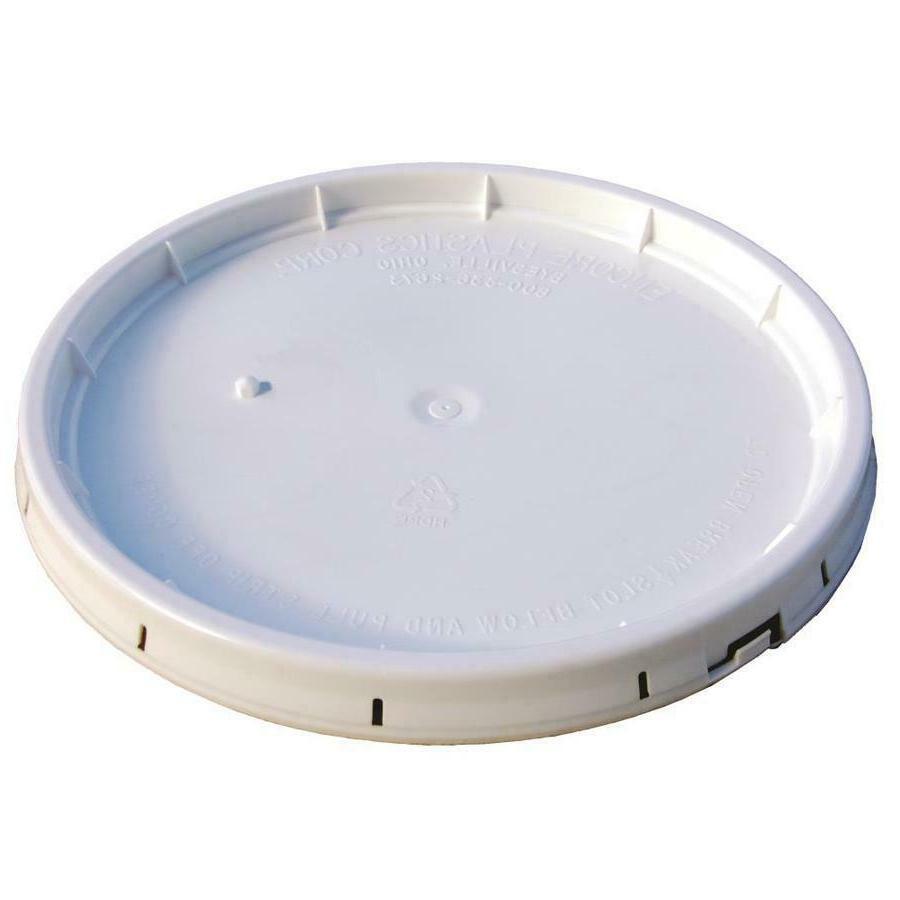 COMMERCIAL PLASTIC LID 5 Gallon Paint Storage
