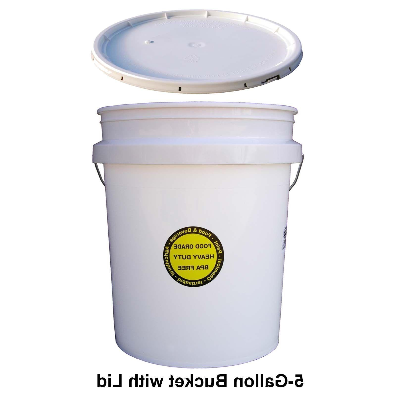 5 gallon all purpose bucket with lid