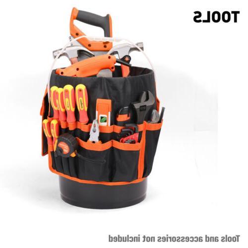 5 Gallon Bucket Organizer 30 Holder Bag AUTO