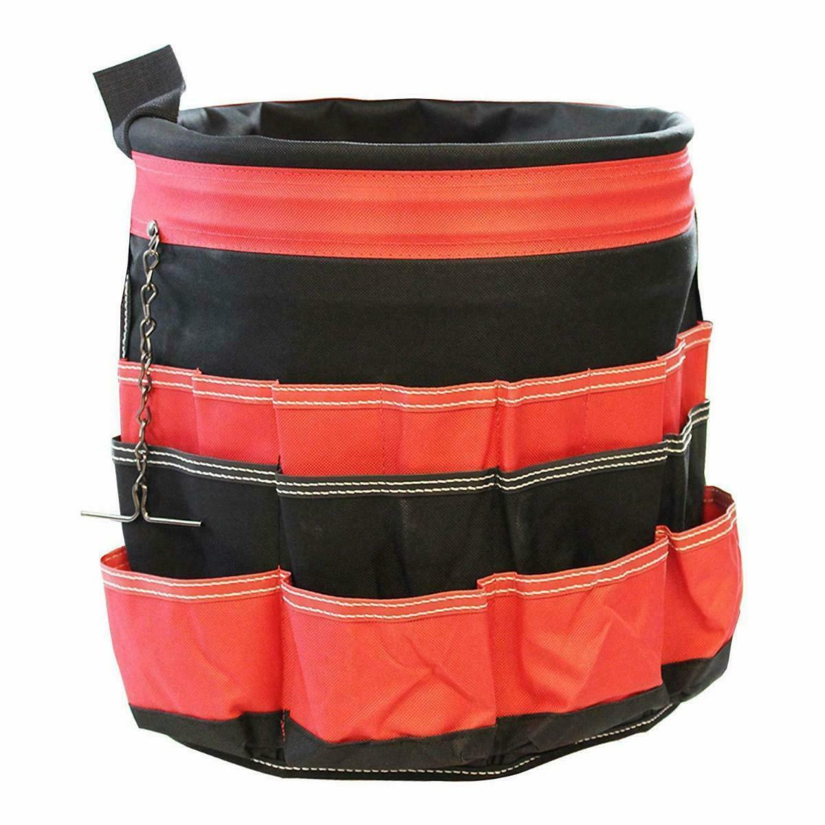 Blackthorn Bucket Organizer Tote Pockets
