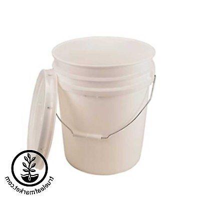 5 BUCKET LID - BPA FREE FOOD GRADE MIL PLASTIC- ALL PURPOSE