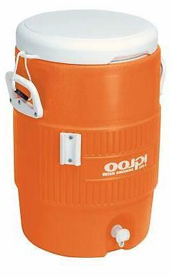 Igloo 5-Gallon Heavy-Duty Beverage Cooler, Orange  Ultimate