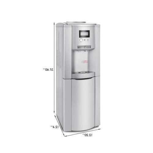 Cooler Dispenser Stainless Top Gallon