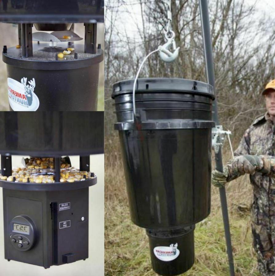 5 Timer Bucket Deer Game Feed Feeder