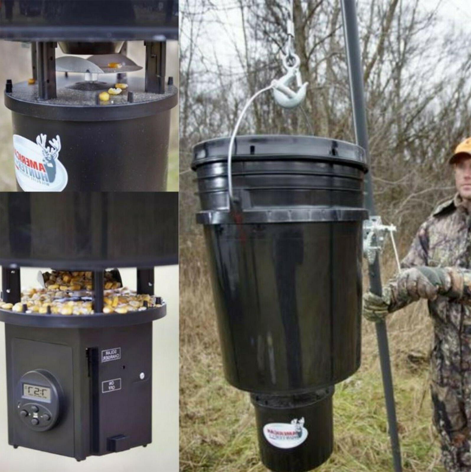 5 gallon hunter digital timer hanging bucket