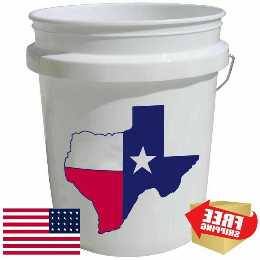 5 gallon plastic bucket all purpose commercial