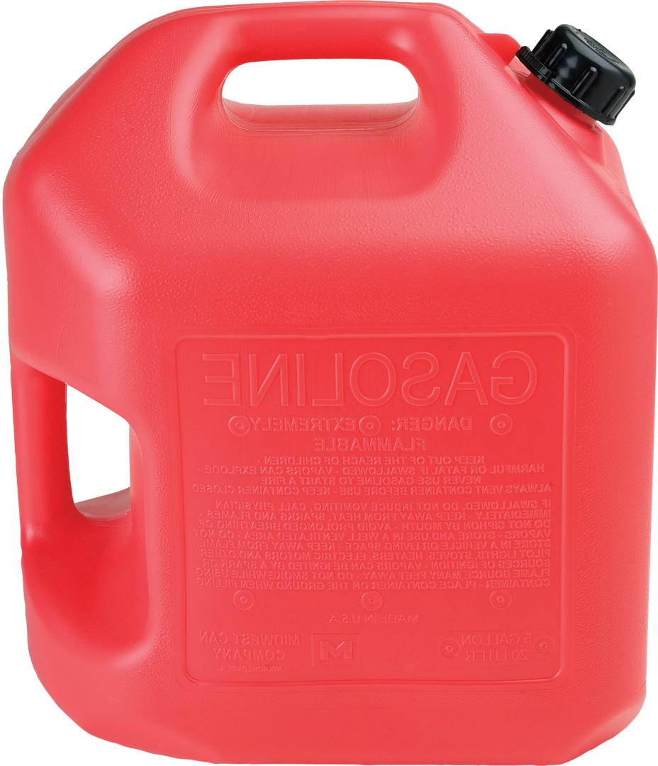 5 gallon red gas can 2 per
